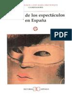 Historia de Los Espectaculos en España
