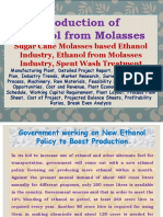 Production of Ethanol from Molasses, Sugar Cane Molasses based Ethanol Industry, Ethanol from Molasses Industry,  Spent Wash Treatment, Manufacturing Plant, Detailed Project Report, Profile, Business Plan, Industry Trends, Market Research, Survey, Manufacturing Process, Machinery, Raw Materials, Feasibility Study, Investment Opportunities, Cost and Revenue, Plant Economics, Production Schedule, Working Capital Requirement, Plant Layout, Process Flow Sheet, Cost of Project, Projected Balance Sheets, Profitability Ratios, Break Even Analysis
