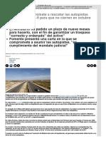 Fomento Se Compromete a Rescatar Las Autopistas Quebradas R3- y R-5 Para Que No Cierren en Octubre _ InfoLibre