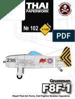 102-Grumman F8F-1 Bearcat.