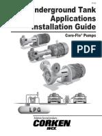 Corken Underground Tank Installation Guide