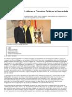 Metro Madrid_ Cifuentes Reclama 15,1 Millones a Florentino Peréz Por El Fiasco de La Línea 7 de Metro