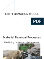 Theory of Chip Formation 2016
