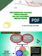 Implementasi Asuhan Terintegrasi Dalam Dokumen Rekam Medis