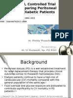RCTof glucose-sparing PD in diabetic patient.pptx