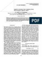 FINITE ELEMENT STUDIES FOR CORRELATION WITH BLOCK SHEAR TESTS