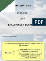 3. Fracciones y Decimales
