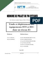 Etude Et Déploiement Des Équipements BTS Et BSC Dans Un Réseau 2G