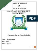 SDM Report