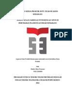 Laporan Praktik Kerja Lapangan Kerja Praktik Di Pt