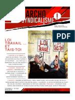 Anarchosyndicalisme! Ete 2016