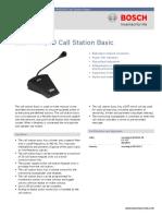 LBB443000-Basic Call Station