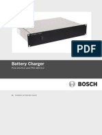 Operation Manual Bosch Charger