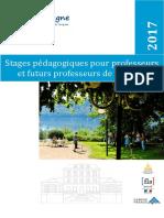 Stages de formations pour professeurs de français  Fle