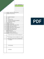 Format Persiapan Akreditasi