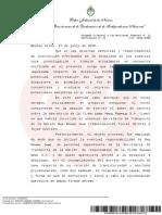 Citación a declaración Indagatoria  de Ricardo Jame y Julio De Vido