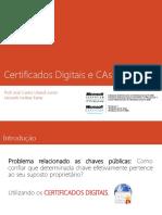 Certificados Digitais e CAs