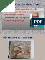 Más Allá Del Academicismo