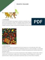 Sugestao de Projeto - Folclore