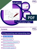 D3 Representing and Interpreting Data