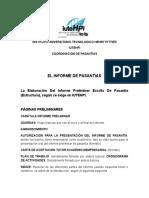 El Informe de Pasantias (1)