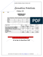 IP Question Booklet