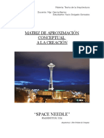 Matriz de Analisis Conceptual Space Needle