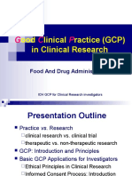 2016 GCP in Clinical Research