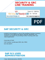Online sap security training|sap security online training india|SAP GRC Course Online in Hyderabad|India|USA