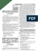 Decreto Supremo que modifica el Reglamento de Organización y Funciones del Ministerio de Agricultura y Riego aprobado por Decreto Supremo N° 008-2014-MINAGRI