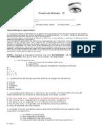 Prueba de Biología 3º Medio HC Con Respuestas