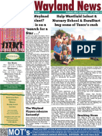 The Wayland News October 2016