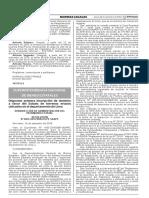 Disponen primera inscripción de dominio a favor del Estado de terrenos eriazos ubicados en el departamento de Lima