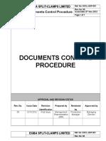 ESCL-QSO-001, Documents Control Procedure.doc
