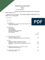 Marking Scheme Grade 10 MOCK 2010