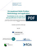 2012_Occupational Skills Profiles_Methodology and Application_Europe