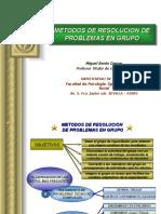 Metodos de Resolucion-De-problemas en Grupo