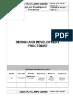ESCL-SOP-011, Design and Development Procedure.doc