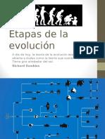 Etapas de La Evolución