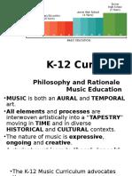 K-12 Music Curriculum