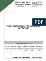 ESCL-SOP-016, Work Instruction for WorkShop Operators.doc