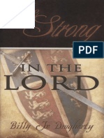 Be Strong in the Lord Daugherty