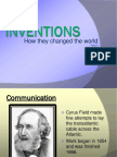 ch  20 sec  3 inventions