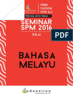 BM July Seminar
