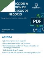 Tema 1 - Introduccion a La Gestion de Procesos de Negocio
