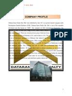 Company Profile Dataran Emas Realty Sdn. Bhd.