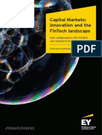 EY Capital Markets Innovation and the FinTech Landscape Executive Summary