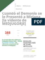 Cuando el Demonio se le Presentó a Mirjana [la vidente de MEDJUGORJE] » Foros de la Virgen María.pdf