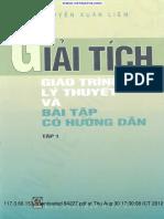 NXL_Giai Tich Giao Trinh LT Va BT Co Huong Dan Tap 1