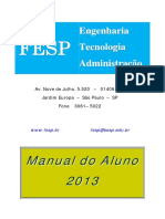 Manual Do Aluno 2013 Fesp
